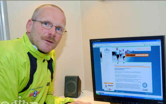 Gerrit Voortman aan het werk